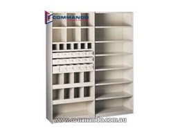 Ezi-Store Rut 200 static shelving from Commando Storage Systems