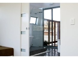 EZ Concept flush door jamb systems used to create clean line, flush finishes
