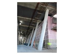 EzyTube's forming tubes and formwork systems used in ATP Seven Project in Sydney