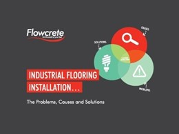 Understanding amine blush in industrial flooring problems