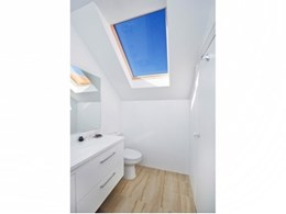 Fakro's self-cleaning skylights and roof windows available from Attic Group