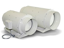 Fantech adds two new models to TD Silent Series mixed-flow fans