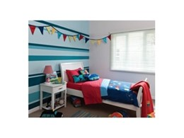 Fashioning fresh spaces for kids with Dulux Wash & Wear coloured paints