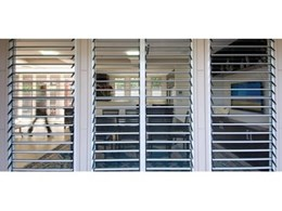 Feel safe with security louvre window systems from Safetyline Jalousie