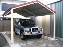 Firmlock Beam Carports from Trusteel Fabrications