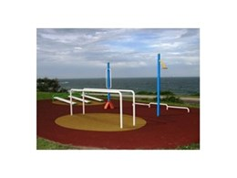 Fitness stations from Moduplay Commercial Play Systems installed at Port Kembla Public School