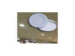 Flat recessed LED ceiling lights available from Tec-Know Display and Lighting