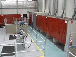 Flexshield offers Welding Bays for Trade Training Centres