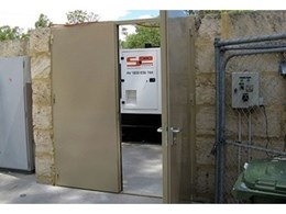 Flexshield soundproof doors offer effective noise control on industrial worksites