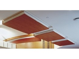 Floating ceiling panels from Supawood for cost-effective design