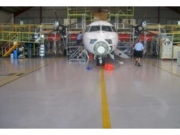 Flowcrete Australia's Industrial Resin Flooring Systems Installed At Qantas Facility