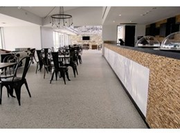 Flowcrete sparkles at luxurious golf clubhouse