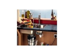 Food waste disposal units available from the Sink and Bathroom Shop