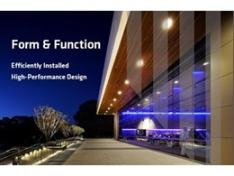 Form & Function: Efficiently Installed High-Performance Design