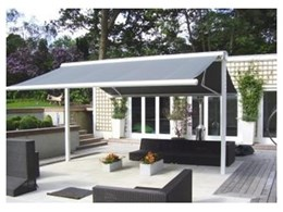 Free-standing awning system from Markilux Australia