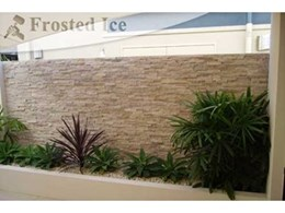 Frost Ice Bookleaf Feature Wall Cladding available from Slate and Stone Products