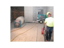 Fugen Construction deploy Kennards Concrete Care dust extractors for EnergyAustralia