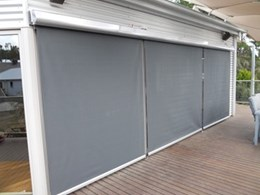 Full cassette hooding for external blinds and awnings, from Bartlett Blinds