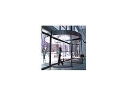 Fullview revolving doors series by Record Automated Doors