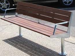Furphy Foundry produces new outdoor seating solution for Whitehorse City Council