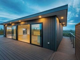 Futurewood composite decking and cladding offer weatherproof protection to holiday home
