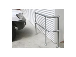 Galvanised ball fences available from Barrier Security Products