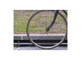 Galvanised bike safety drain grates from BR Durham & Sons