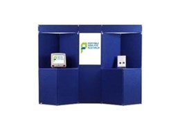 Go-Panel display boards available from Portable Displays Australia