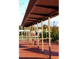 Greenline Shade covers Albury Airport's upgrade with new pedestrian walkway system