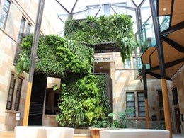 Greenwalls a key design feature in UQ's 6 Green Star rated building