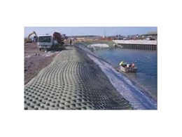 Grout filled revetment mattress products for erosion control, from Erosion Protection Systems