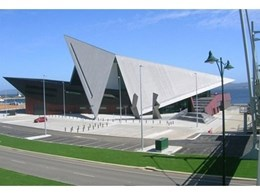HM Metalcraft's VM Zinc cladding used in the award winning Albany Entertainment Centre in WA