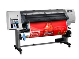 HP Designjet L25500 on Show at Perth Expo for the First Time