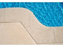 Hand finished curved pool bullnosing available from Urbano Unique Stone