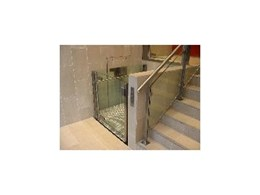 Harwel Lifts offer latest design of stainless and glass wheelchair lifts