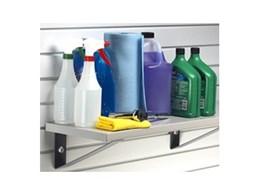 Heavy duty garage shelving available from Garageworks