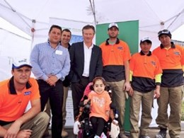 Hebel joins AVJennings and Steve Waugh Foundation on new home building