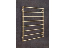 Heritage renovations with new Thermogroup gold heated towel rails