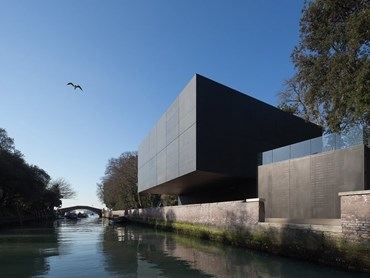 The Jorn Utzon Award for International Architecture - Australian Pavilion, Venice (Italy) by Denton Corker Marshall. Photography by John Gollings