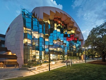 The Sir Zelman Cowen Award for Public Architecture - Geelong Library & Heritage Centre (VIC) by ARM Architecture. Photography by John Gollings