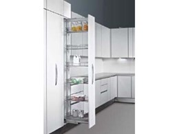 Hettich's pull-out pantry systems for superior kitchen storage