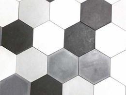 Covet introduces new Hex tiles by Concrete Collaborative