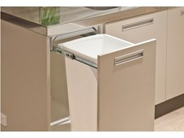 Hideaway Waste Disposal Units from Kitchen King are Hygienic and Space Saving