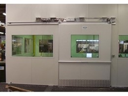High impact traffic doors from DORMA