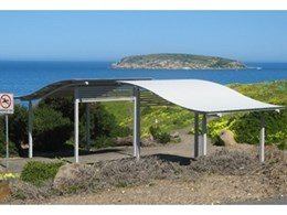 High quality aluminium park shelters from Landmark Products
