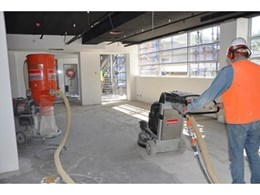 Hired Concrete Grinders Provide Polished Performance for Mainbrace