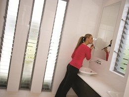 How Altair louvre windows deliver practical benefits in every bathroom