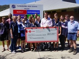 Hyne Timber funds 17 Tumbarumba students for Kokoda Trail experience