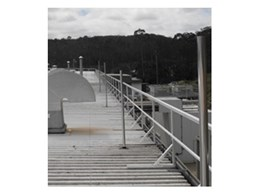 INDUSTROQUIP offer Strongarail roof handrail systems for complete roof safety