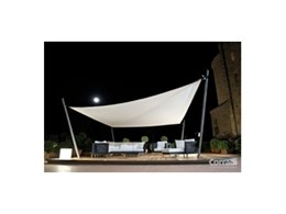 INTREPID retractable shade sails available from Aalta Screen Systems